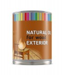 NATURAL OIL for wood exterior