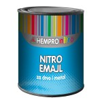 Nitro enamel lacquer for wood and metal
